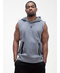 Jordan AJ Lite S/L Fleece Hoodie Cool Grey Black