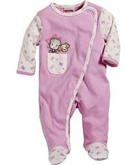 Schnizler Baby - Mädchen Schlafstrampler Schlafanzug Mädchen mit Hündchen, Oeko Tex Standard 100