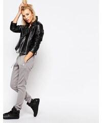 Le Coq Sportif - Pantalon de jogging avec logo - Gris - Gris
