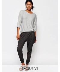 Nocozo - Pantalon de jogging décontracté avec poche - Gris