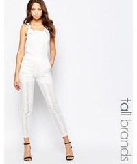 Vero Moda -Tall - Latzhose - Weiß