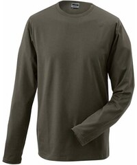Pánské tričko Elastic - Olive S