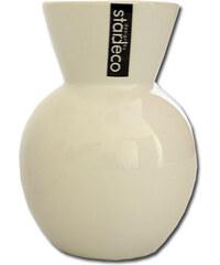 StarDeco Bílá váza, velká