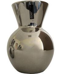 StarDeco Váza stříbrná, malá