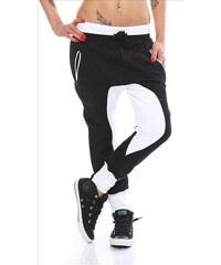 Baggy dámské kalhoty - černé