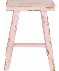 Green Gate Dřevěná stolička Pale pink