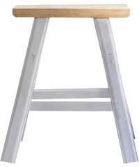 House Doctor Dřevěná stolička Simple Grey