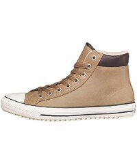 Converse Herren CT All Star Hi Padded Collar Winter Lined Sand Sneakers Braun