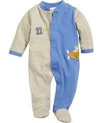 Schnizler Unisex Baby Schlafstrampler Schlafanzug Flugzeug, Oeko Tex Standard 100