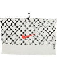 Ručník Nike Face Club Print bílá/černá