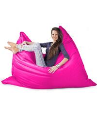 CrazyShop Sedací vak Standard 144x180 cm, růžová