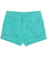 LamaLoLi Shorts türkis in Größe 104 für Mädchen aus 98% Baumwolle 2% Elastan