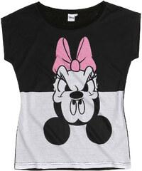 Disney Daisy T-Shirt schwarz in Größe S für Damen aus 60 % Baumwolle 40 % Polyester