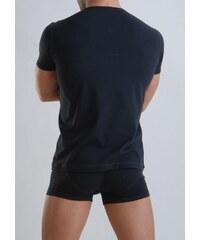 Bambusové tričko s krátkým rukávem GERONIMO 959t3 černé - S