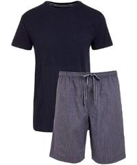 Pánské pyžamo JOCKEY Max tmavě modré - 3XL