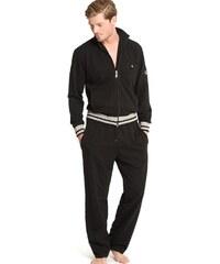 Pánské domácí oblečení JOCKEY (prodloužená délka) černé - XL