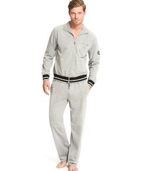 Pánské domácí oblečení JOCKEY (prodloužená délka) šedé - M