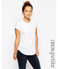 ASOS PETITE - The Ultimate Crew Neck - T-Shirt - Weiß