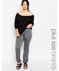 Junarose - Pantalon confort - Gris