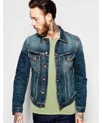 Nudie Jeans - Billy - Veste en jean style camioneur - Bleu
