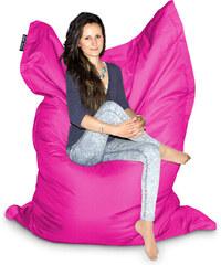 CrazyShop Sedací vak MAXI 140x200 cm, růžová