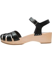 Swedish hasbeens DEBUTANT Clogs black/nature