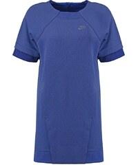 Nike Sportswear TECH FLEECE Jerseykleid deep royal blue/heather/loyal blue/obsidian