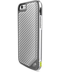 Pouzdro / kryt pro Apple iPhone 6 / 6S - X-DORIA, DEFENSE LUX SILVER CARBON - VÝPRODEJ