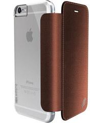 Pouzdro / kryt pro Apple iPhone 6 / 6S - X-DORIA, ENGAGE FOLIO LUX BROWN