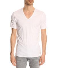 CALVIN KLEIN UNDERWEAR T-Shirt weiß V-Neck (2er Pack)