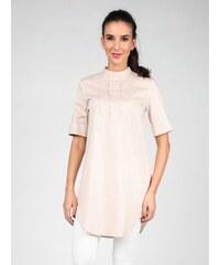 Isabel by Rozarancio Dámská dlouhá košile IR16S P4001_LIGHT PINK