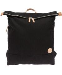 Enter Rucksack mit Laptop-Trennwand, »Top Zip Backpack, Black/Natural«