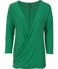 RAINBOW T-shirt vert manches mi-longues femme - bonprix
