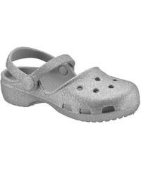 Crocs Clog im Metallic Look