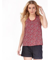 Ribbon Damen AOP Top Rot