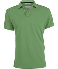 Pánská Vintage polokošile - Mechově zelená S