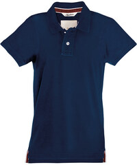 Pánská Vintage polokošile - Námořní modrá S