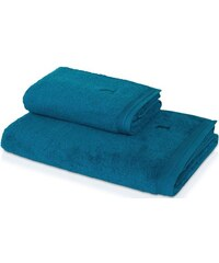 Handtuch Superwuschel in flauschiger Qualität MÖVE blau 1xHandtuch 50x100 cm