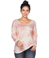 Damen Trend Pullover SHEEGO TREND weiß 40/42,44/46,48/50