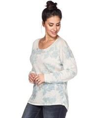SHEEGO TREND Damen Trend Pullover weiß 40/42,44/46,48/50