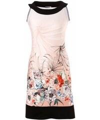 Vivance Collection Damen Etuikleid Jersey mit Blumen-Druck rosa 34,36,38,40,42,44,46