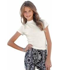 Shirt mit modischem Stehkragen für Mädchen Buffalo natur 128/134,140/146,152/158,164/170,176/182