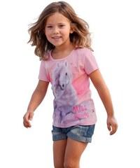 MISS MELODY Miss Melody T-Shirt mit Miss Melody - Druckmotiv für Mädchen rosa 104/110,116/122,128/134,140/146,92/98