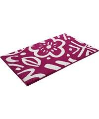 Badematte Cool Flower Höhe 10 mm rutschhemmender Rücken Esprit Home rosa 2 (55x65 cm),3 (60x100 cm),4 (70x120 cm)