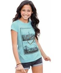 Longshirt mit Fotodruck für Mädchen Arizona grün 128/134,140/146,152/158,164/170,176/182