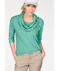 FLG Flashlights Damen 3/4-Arm-Shirt (Set mit Schal) grün 32/34 (XS),36/38 (S),40/42 (M)