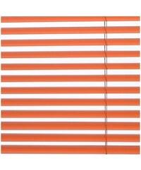 SUNLINES Aluminium-Jalousie JalouClick im Festmaß (1 Stck.) orange 1 (H/B: 60/40 cm),10 (H/B: 150/140 cm),2 (H/B: 120/60 cm),3 (H/B: 120/80 cm),4 (H/B: 120/100 cm),5 (H/B: 120/120 cm),6 (H/B: 150/100