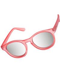 Le Specs Hey Macarena Sonnenbrille matte rose/silver