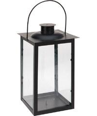 Lucerna 17x30 cm, kovová, černá EXCELLENT KO-CC5053040