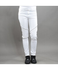 Urban Classics Ladies Stretch Biker Pants bílé
